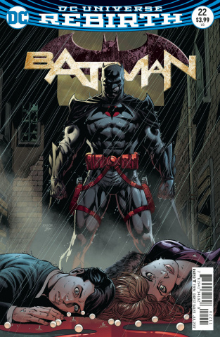 Batman #22 (Lenticular Cover)
