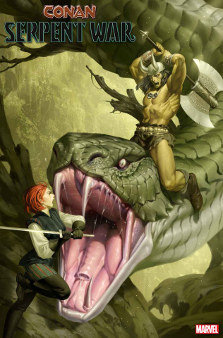 Conan: Serpent War #2 (Yoon Cover)