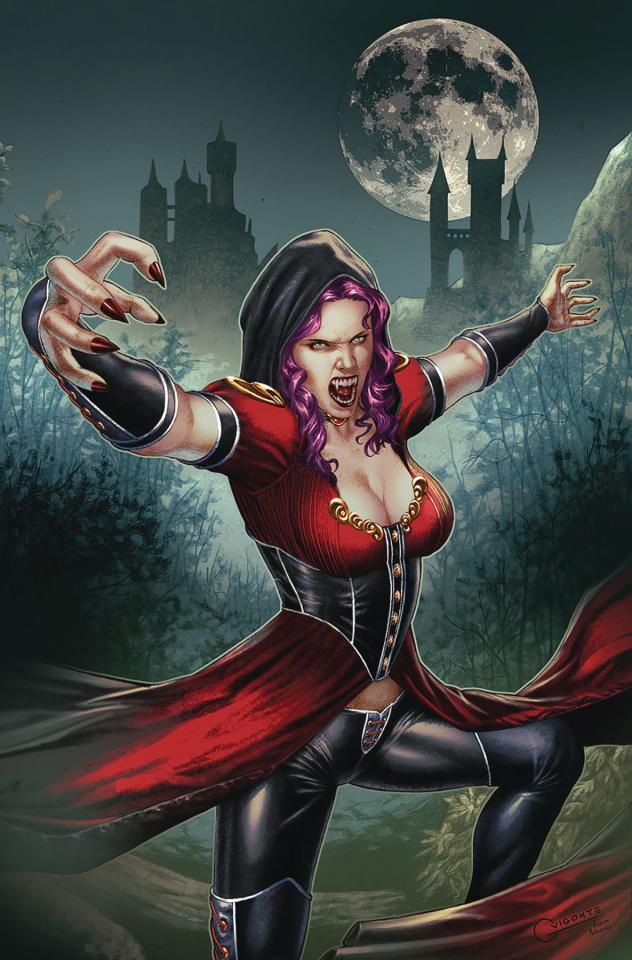 Van Helsing vs. The League of Monsters #5 (Vigonte Cover)