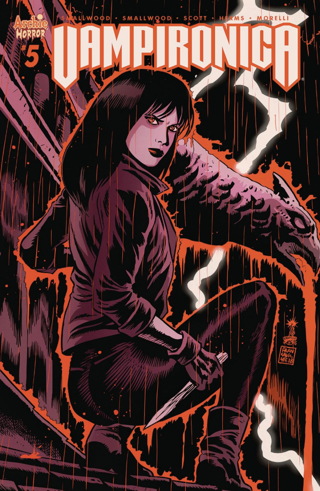 Vampironica #5 (Taylor Cover)