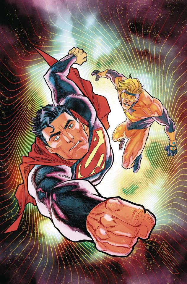 Action Comics Vol. 5: Booster Shot (Rebirth)