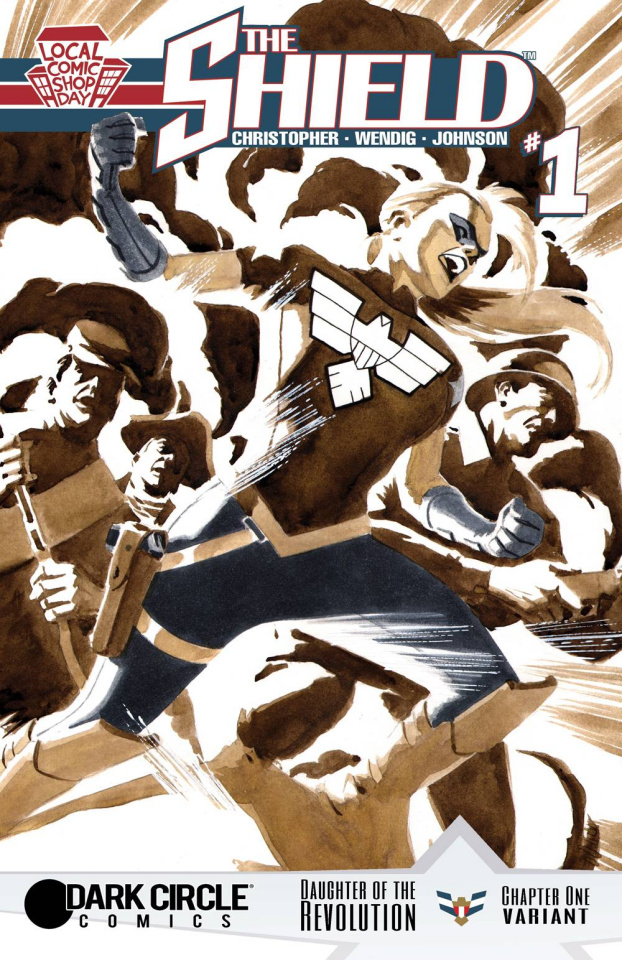 The Shield #1 (Local Comic Shop Day)