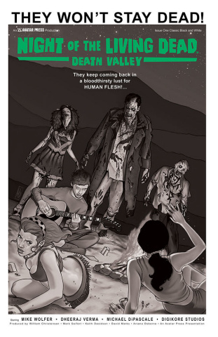 Night of the Living Dead: Death Valley #1 (Classic Cover)