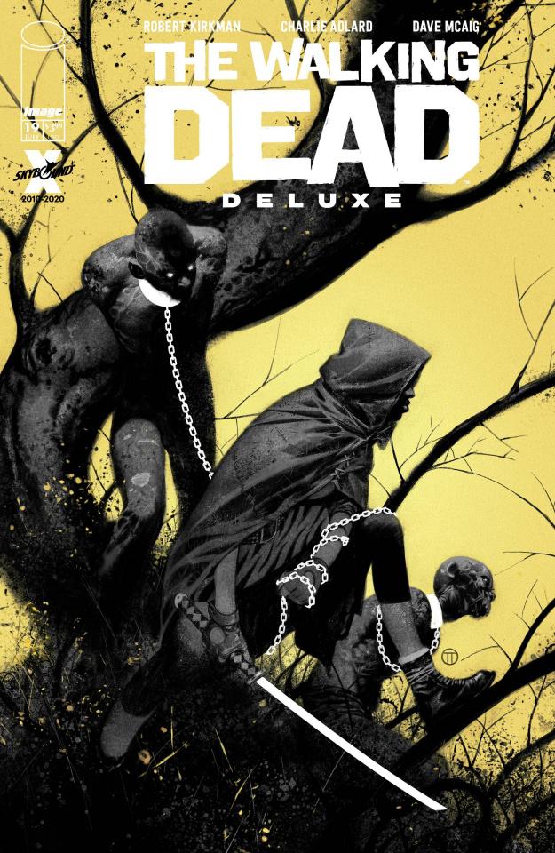 The Walking Dead Deluxe #19 (Tedesco Cover)
