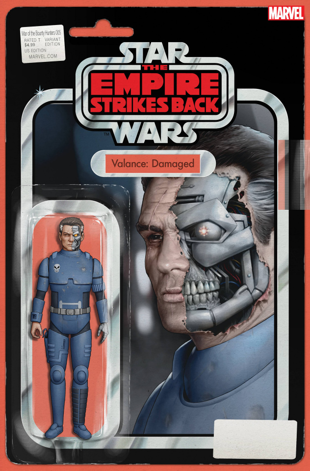 Star Wars: War of the Bounty Hunters #5 (Action Figure Cover)