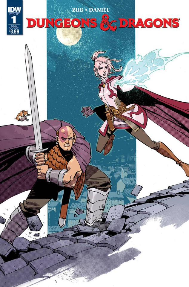 Dungeons & Dragons #1 (Subscription Cover)