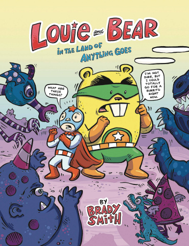 Louie and Bear in the Land of Anything
