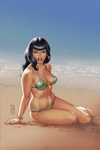 Bettie Page #1 (Linsner Virgin Cover)