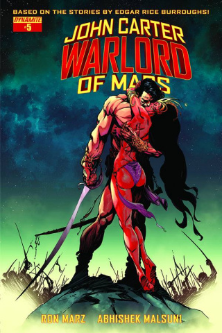 John Carter: Warlord of Mars #5 (Sears Cover)