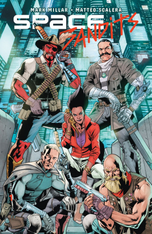 Space Bandits #1 (Coipel Cover)