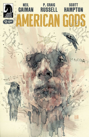 American Gods: Shadows #2 (Mack Cover)