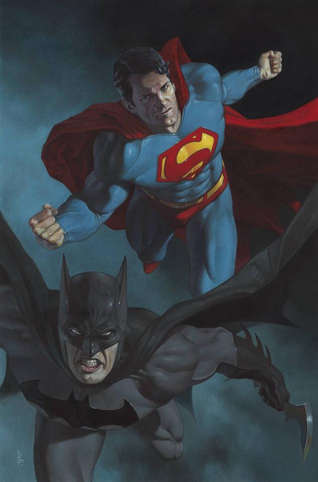 Batman / Superman #10 (Card Stock Federici Cover)