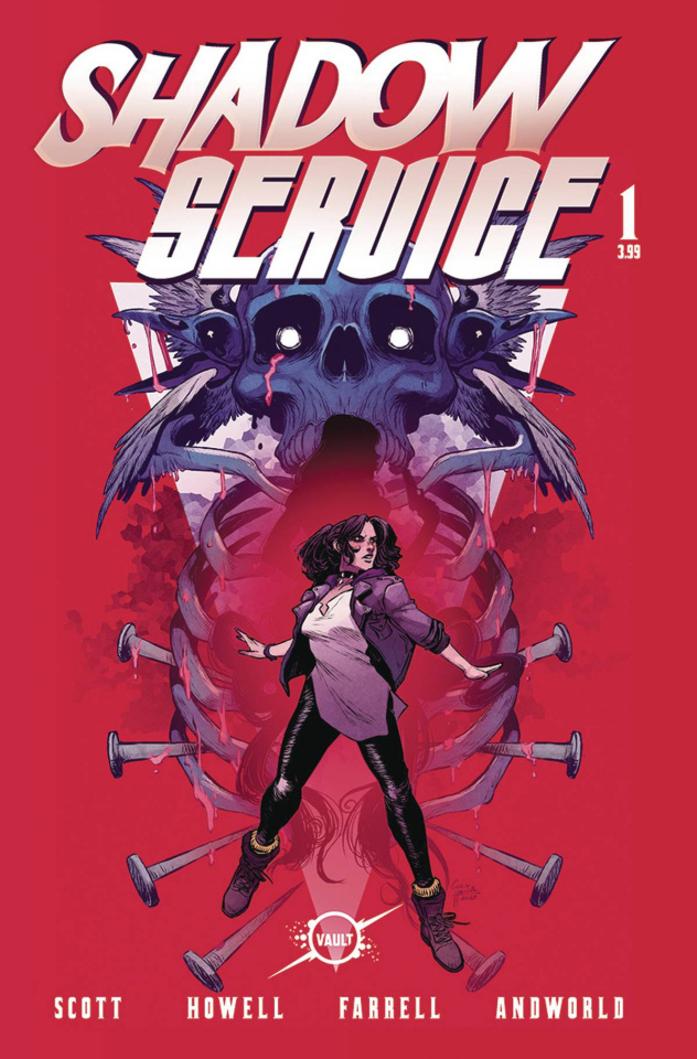 Shadow Service #1 (Howell & Farrell Cover)
