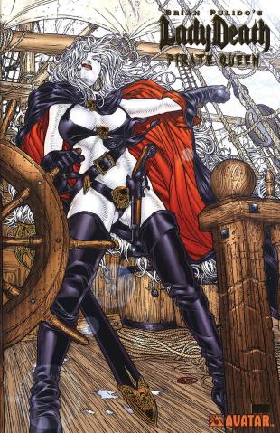 Lady Death: Pirate Queen (Lost Souls Gold Foil Set)