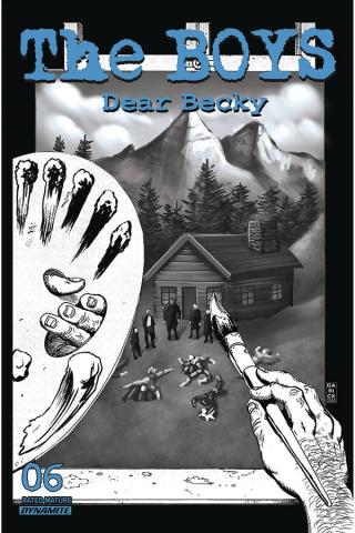 The Boys: Dear Becky #6 (Robertson Line Art Premium Cover)