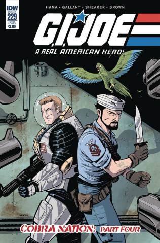 G.I. Joe: A Real American Hero #229 (Subscription Cover)