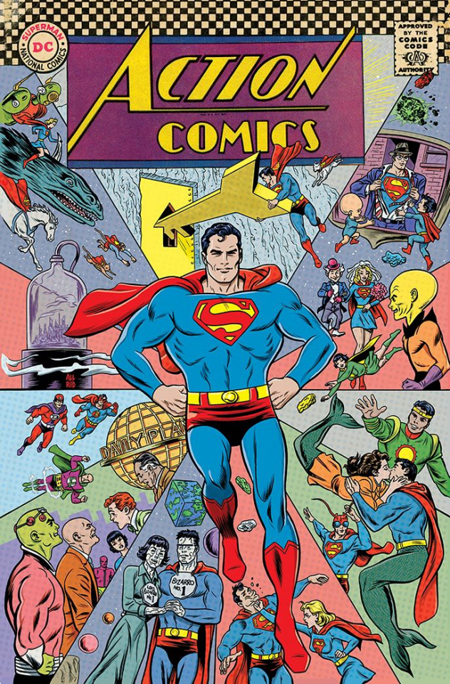 Action Comics #1000 (1960s Cover)