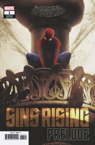 The Amazing Spider-Man: Sins Rising Prelude #1 (Boss Logic Cover)