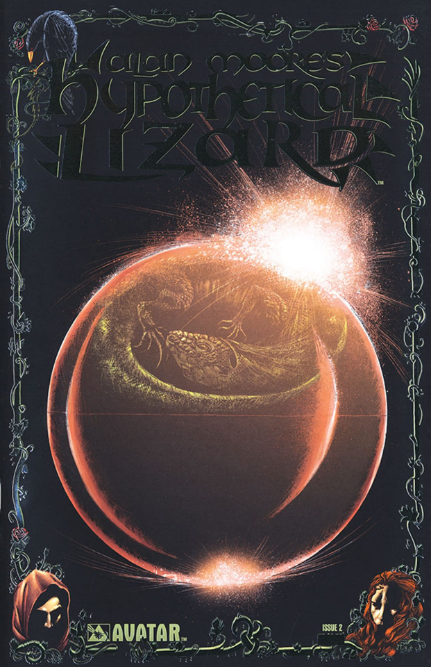 Hypothetical Lizard #2 (Platinum Foil Cover)
