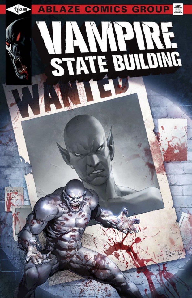 Vampire State Building #4 (Casas Cover)