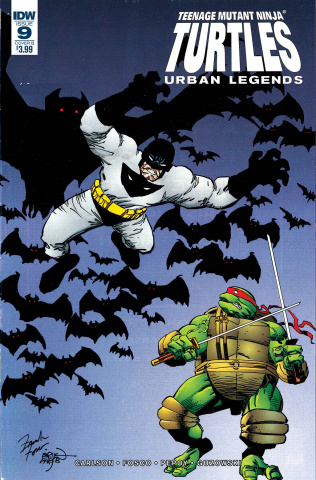 Teenage Mutant Ninja Turtles: Urban Legends #9 (Fosco & Larsen Cover)