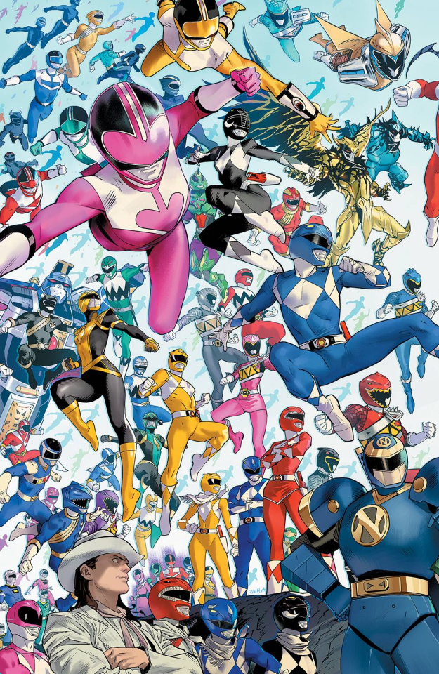 Power Rangers #1 (10 Copy Mora Cover)