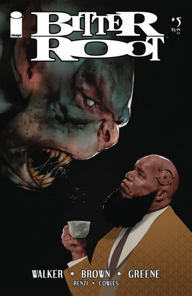 Bitter Root #5 (Oliver Cover)