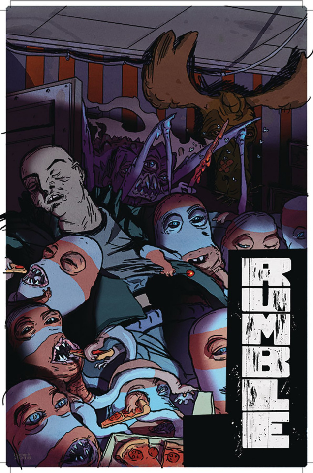 Rumble #16 (Hansen Cover)