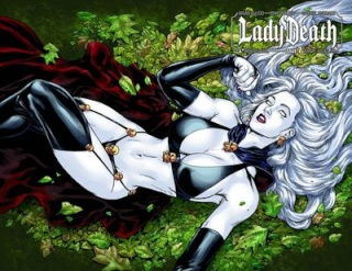 Lady Death #7 (Wrap Cover)