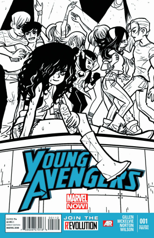 Young Avengers #1 (2nd Printing)