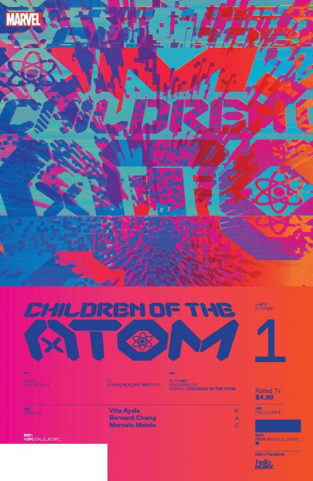 X-Men: Children of the Atom #1 (Muller Design Cover)