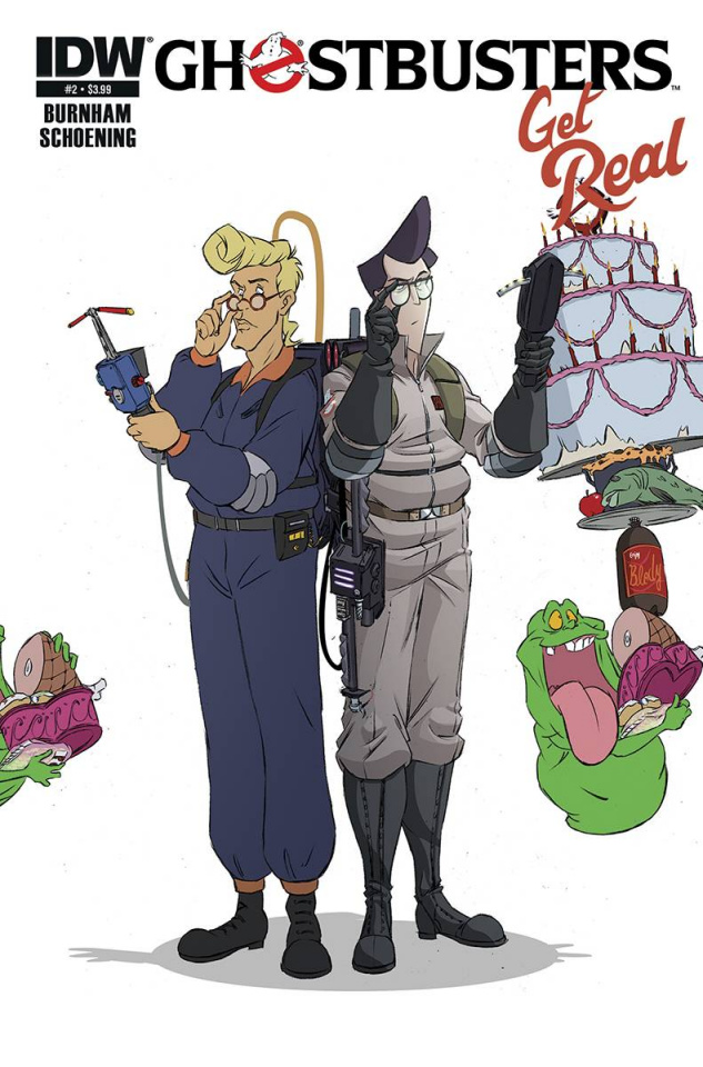Ghostbusters: Get Real #3