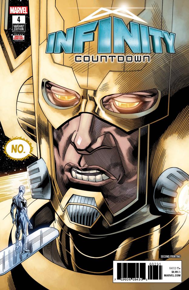 Infinity Countdown #4 (Hawthorne 2nd Printing)