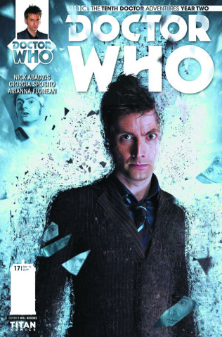 Doctor Who: New Adventures with the Tenth Doctor, Year Two #17 (Photo Cover)