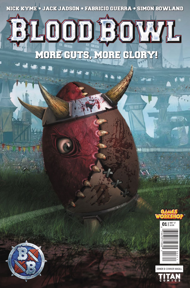 Blood Bowl: More Guts, More Glory! #1 (Magill Cover)