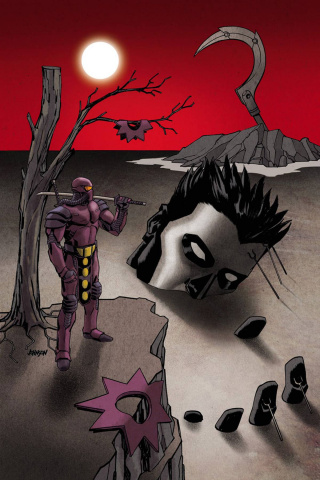 Ninjak #11 (20 Copy Johnson Cover)