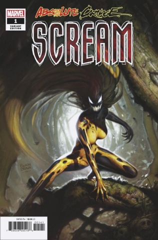 Absolute Carnage: Scream #1 (Brown Cover)
