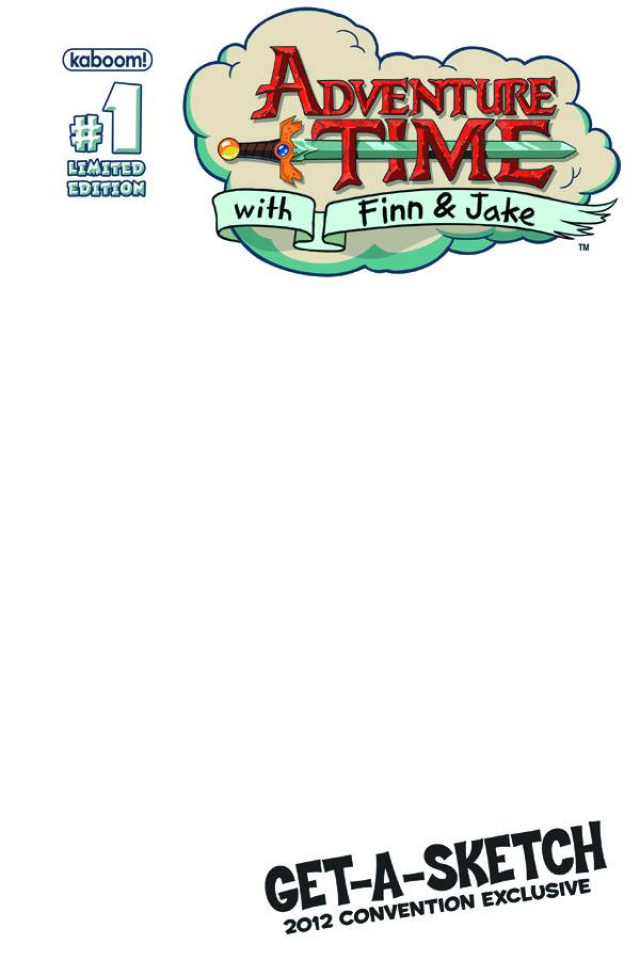 Adventure Time #1 (Sketch Cover)