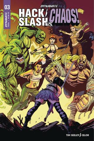 Hack/Slash vs. Chaos! #3 (Seeley Cover)