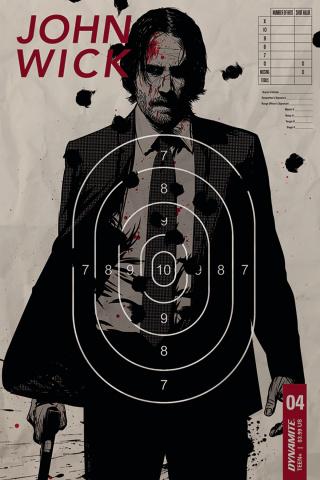 John Wick #4 (Garriga Cover)