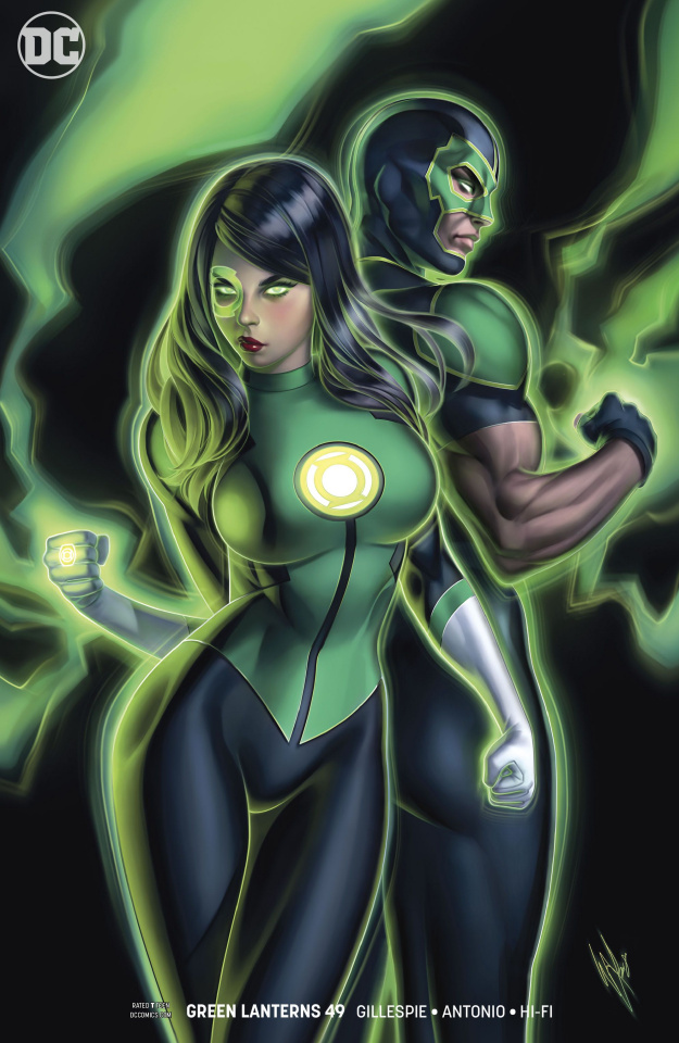 Green Lanterns #49 (Variant Cover)