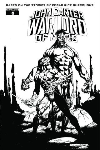 John Carter: Warlord of Mars #9 (10 Copy Sears Cover)