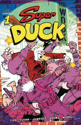 Super Duck #1 (Fish Cover)