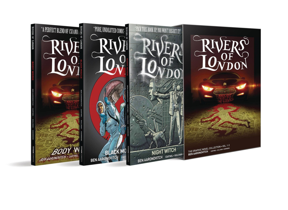 Rivers of London Vols. 1-3 (Box Set)