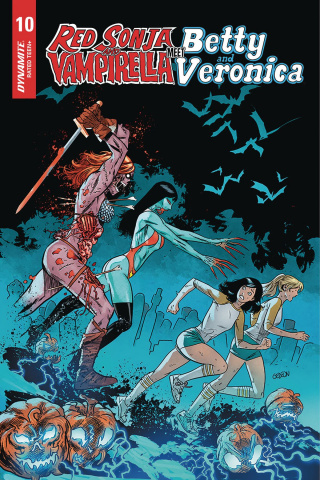 Red Sonja and Vampirella Meet Betty and Veronica #10 (5 Copy Gedeon Zombie Cover)