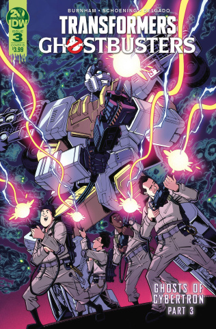 The Transformers / Ghostbusters #3 (Roche Cover)