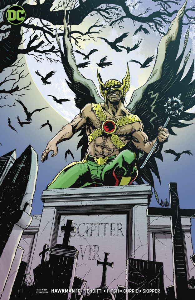 Hawkman #10 (Variant Cover)