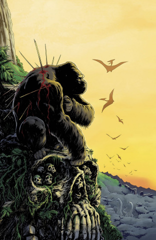Kong of Skull Island #3 (10 Copy Galusha Cover)