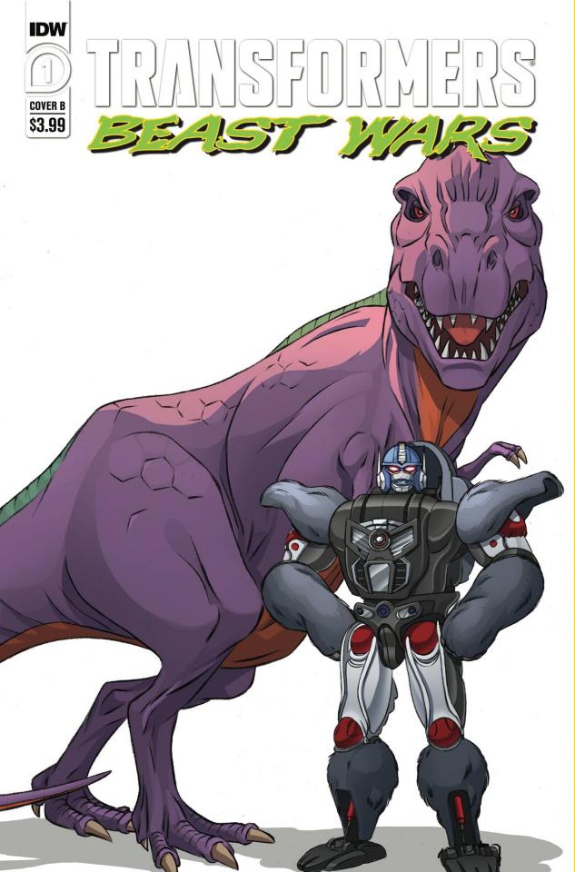 Transformers: Beast Wars #1 (Ficio Ossio Cover)