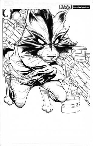 Guardians of the Galaxy #1 (Quesada Sketch Cover)